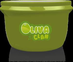 envase verde oliva clan